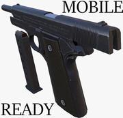 Colt 1911 Mobile Ready 3d model