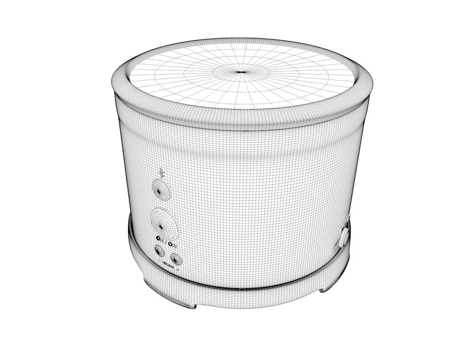 Wireless BT Speaker royalty-free 3d model - Preview no. 7