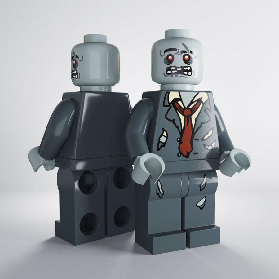 Lego zombie modello 3d $17 .unknown .obj .fbx .dae .3ds .max free3d
