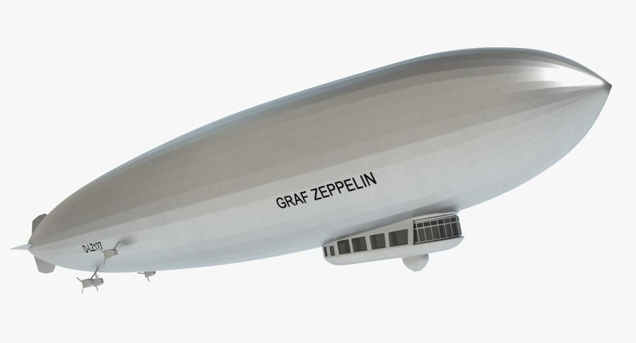 Graf Zeppelin royalty-free 3d model - Preview no. 2