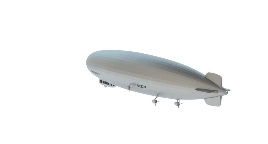 Graf Zeppelin royalty-free 3d model - Preview no. 6