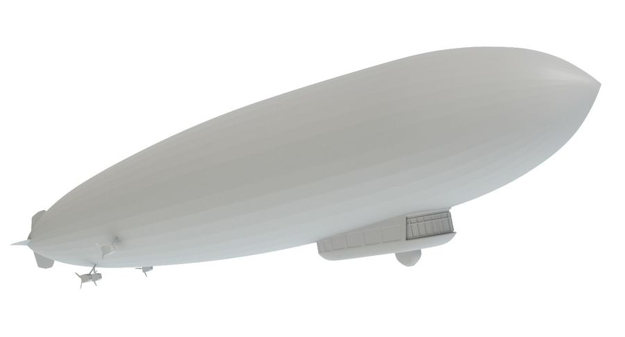 Graf Zeppelin royalty-free 3d model - Preview no. 11
