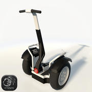 Segway low poly 3d model