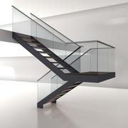 Modern Stair 2 3d model