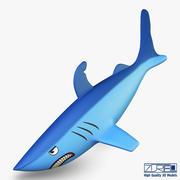 Shark v 1 3d model