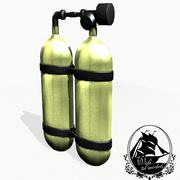 Oxygen Cylinders 3d model