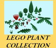 LEGO Plant Collection 3d model