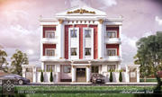 New classic building B3 3d model