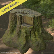 Tree Trunk 01 (Game Ready) 3d model