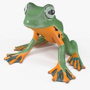 Tree Frog Figure 3d model