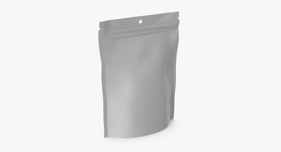 Doypack Pouch royalty-free 3d model - Preview no. 5
