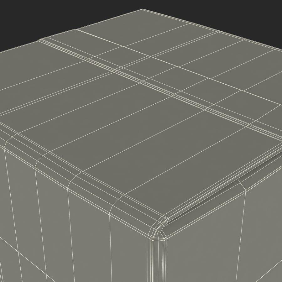 Milk Pint Box royalty-free 3d model - Preview no. 18