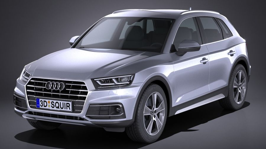 Audi Q D Model Obj Max Lwo Fbx Cd Ds FreeD - Audi q5 models