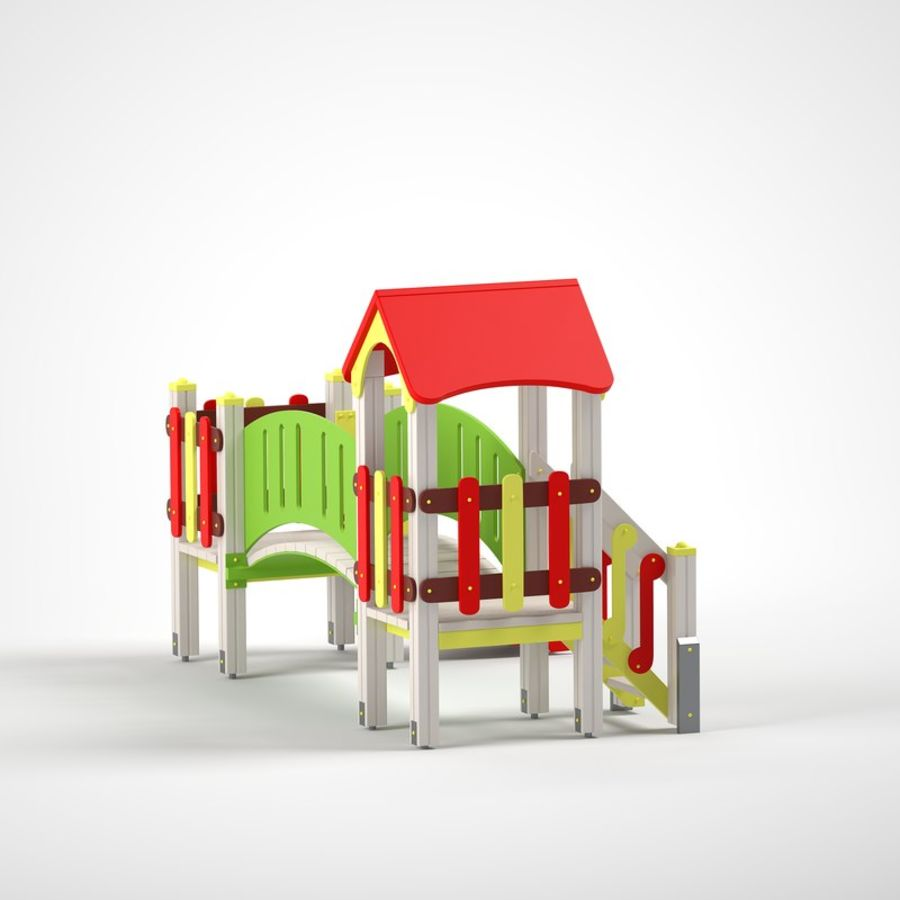playground royalty-free 3d model - Preview no. 5