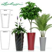 plant 21 Lechuza DIAMANTE DELTA 3d model