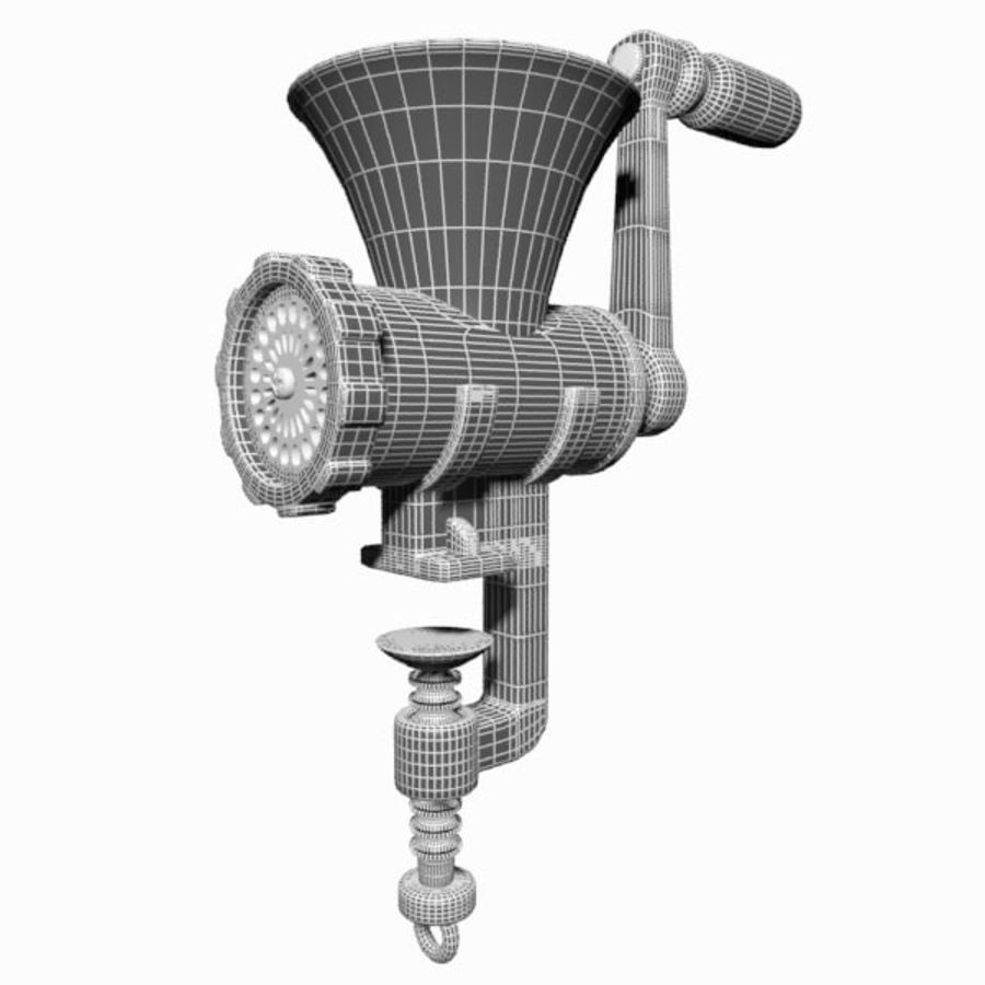 Meat Grinder royalty-free 3d model - Preview no. 11