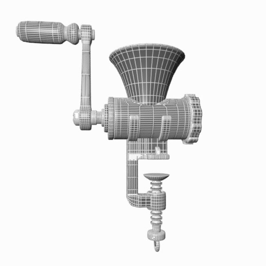 Meat Grinder royalty-free 3d model - Preview no. 17