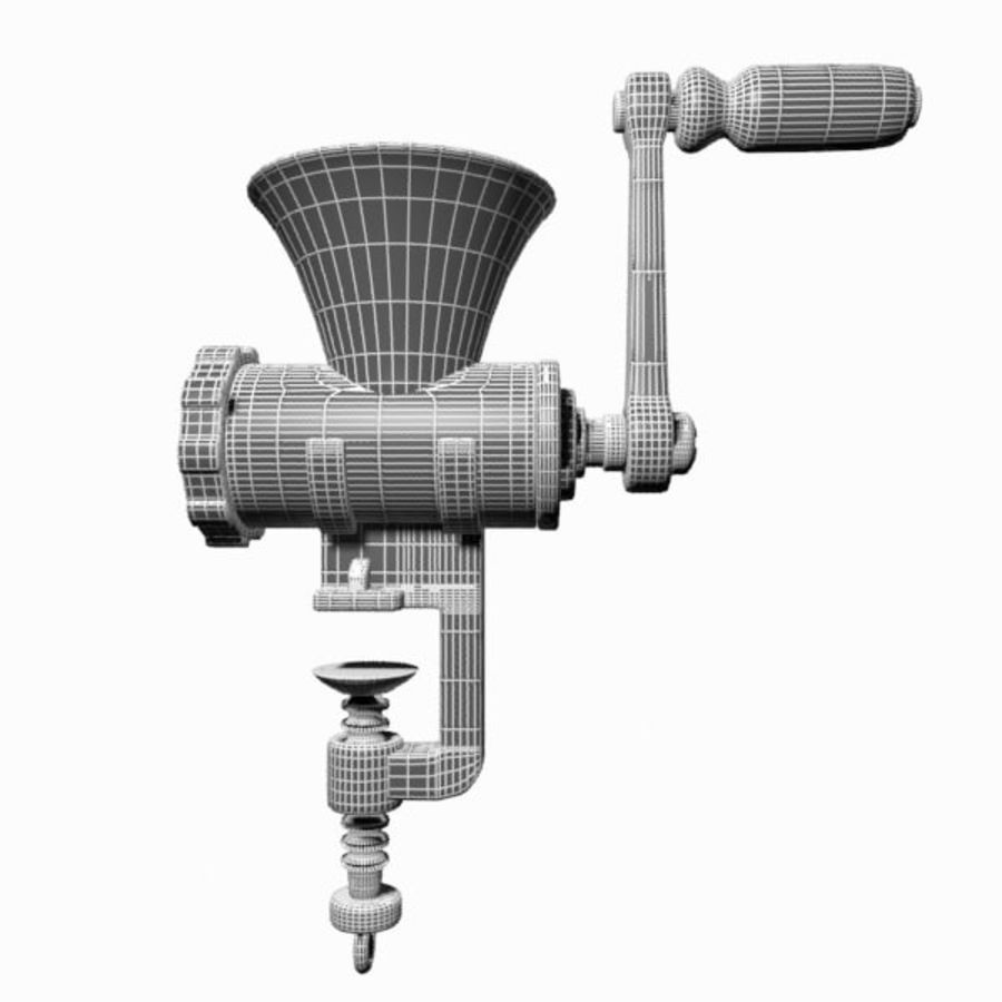 Meat Grinder royalty-free 3d model - Preview no. 13