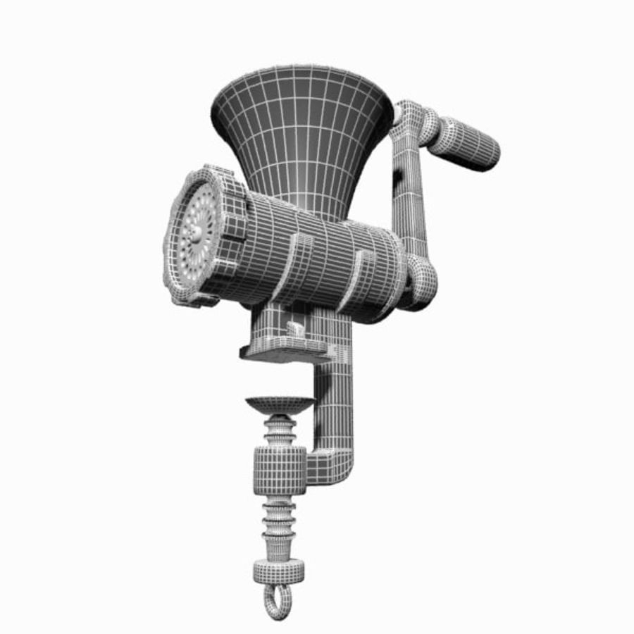 Meat Grinder royalty-free 3d model - Preview no. 12
