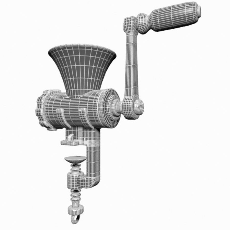 Meat Grinder royalty-free 3d model - Preview no. 14