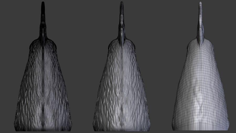 Голова петуха royalty-free 3d model - Preview no. 5