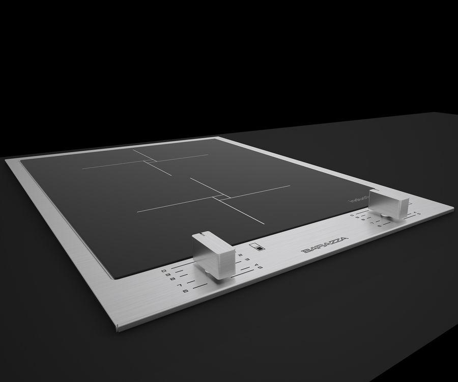 Induzione del piano di cottura BARAZZA BFeel36 C4DVray Modello 3D ...