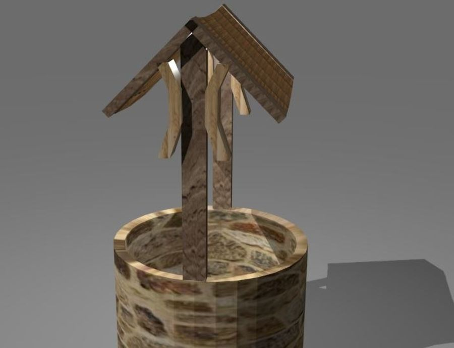 Water Well royalty-free 3d model - Preview no. 4