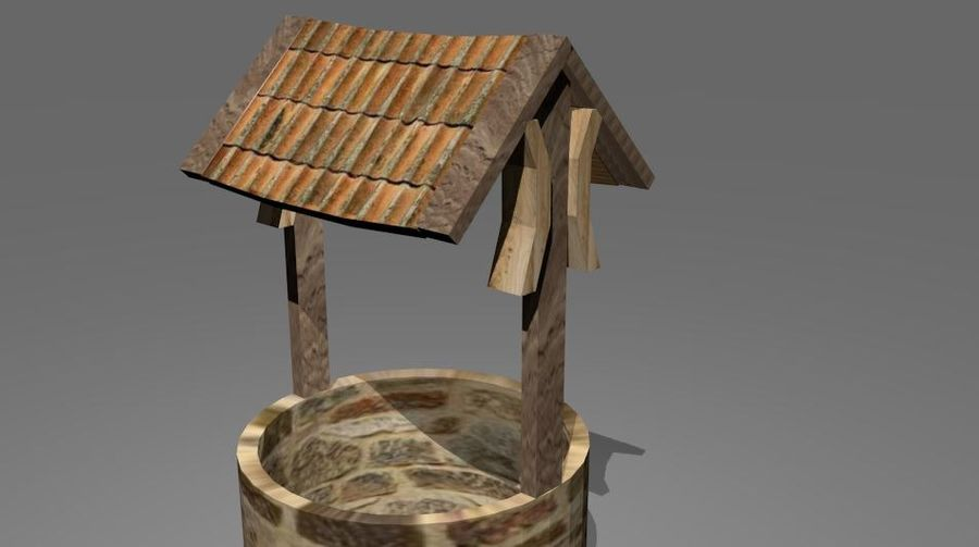 Water Well royalty-free 3d model - Preview no. 2
