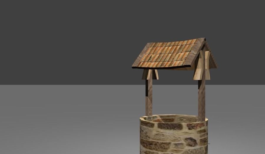 Water Well royalty-free 3d model - Preview no. 5