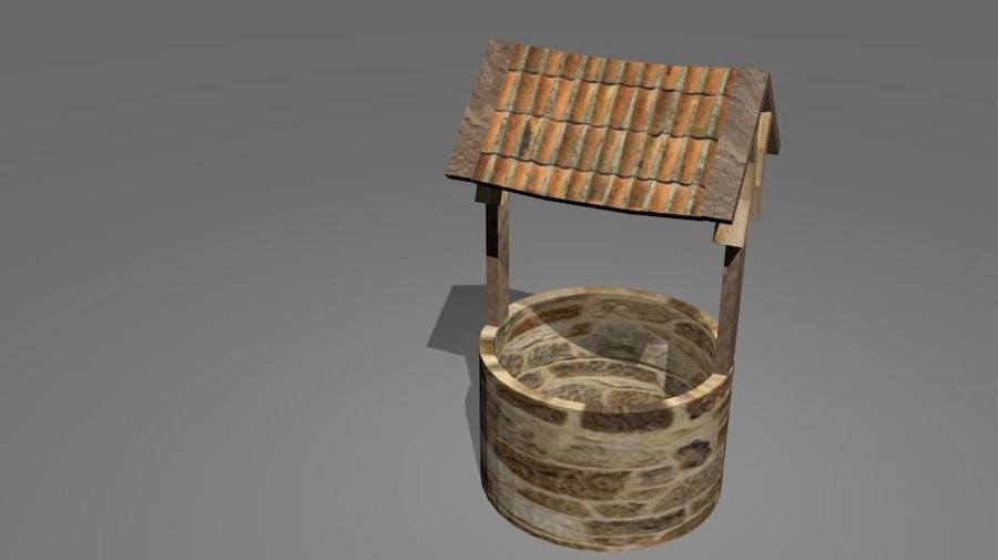 Water Well royalty-free 3d model - Preview no. 3