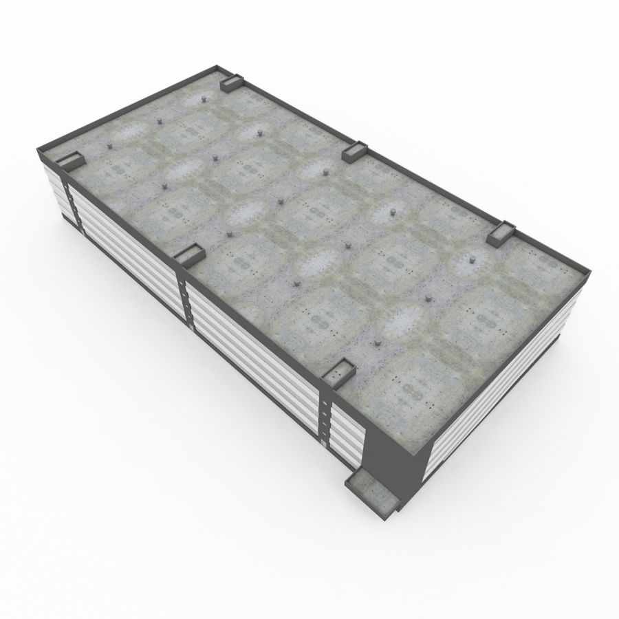 Auto Parking royalty-free 3d model - Preview no. 2