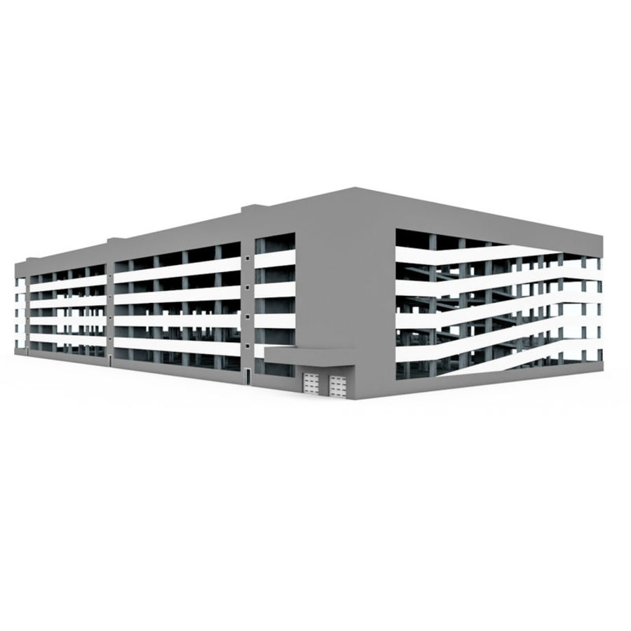 Auto Parking royalty-free 3d model - Preview no. 1