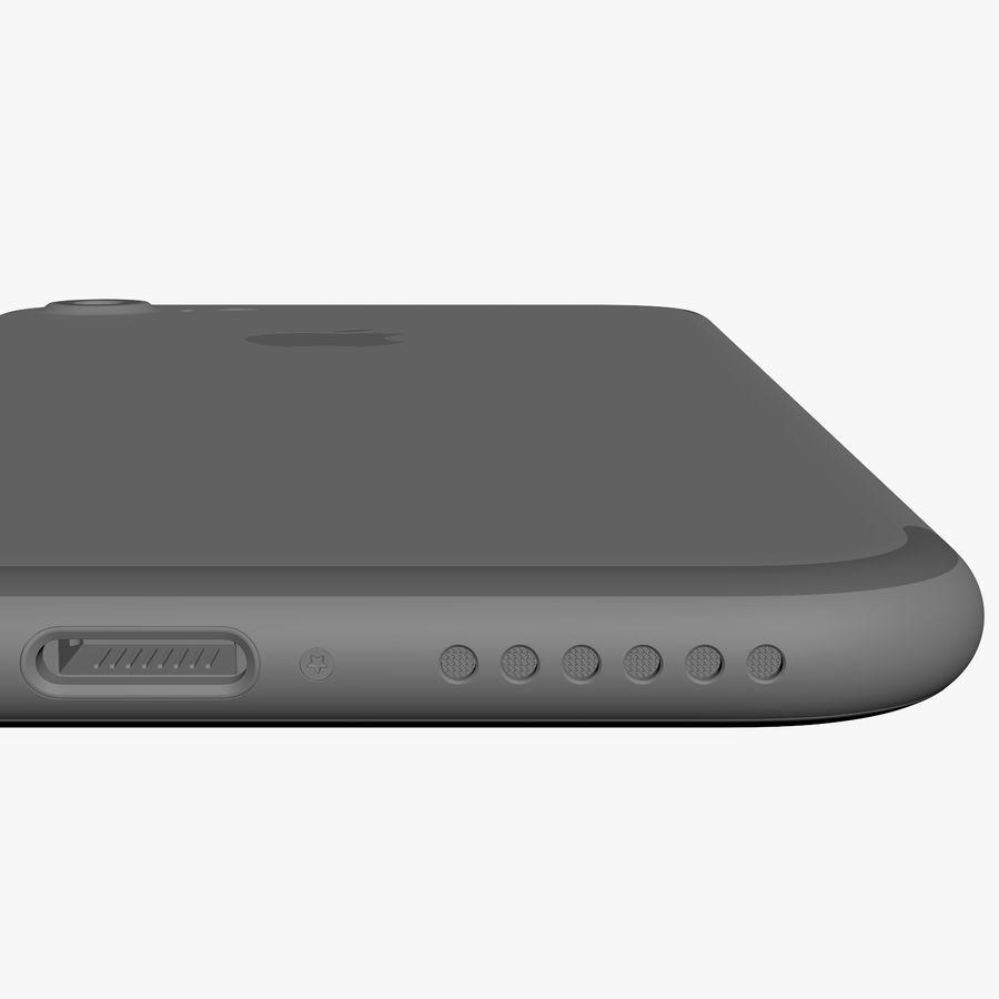 애플 아이폰 7 플러스 + 아이폰 7 제트 블랙과 블랙 royalty-free 3d model - Preview no. 42