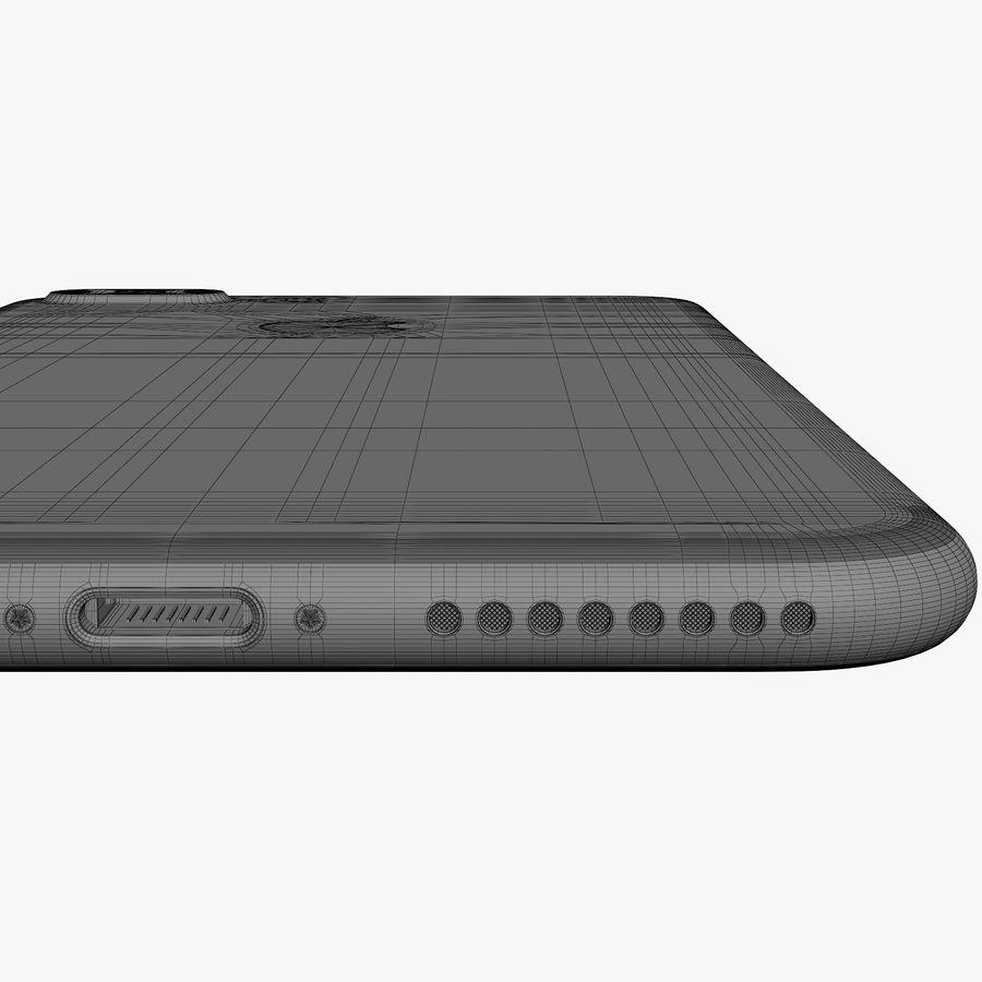 애플 아이폰 7 플러스 + 아이폰 7 제트 블랙과 블랙 royalty-free 3d model - Preview no. 54