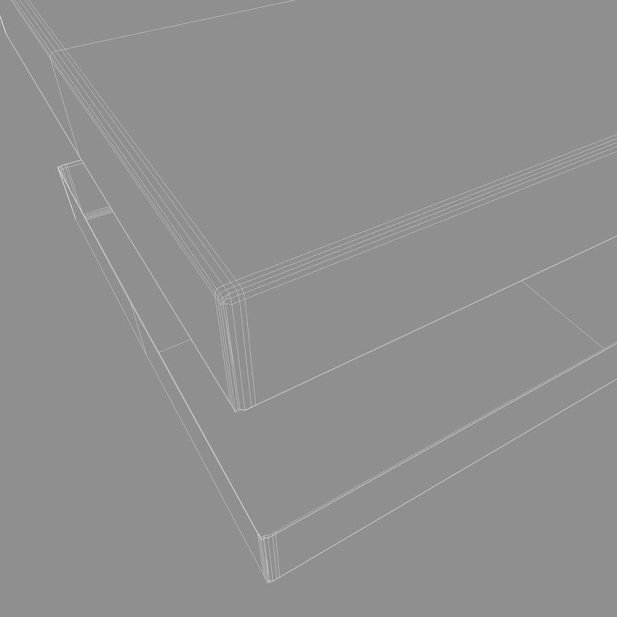 ボックス段ボール royalty-free 3d model - Preview no. 11