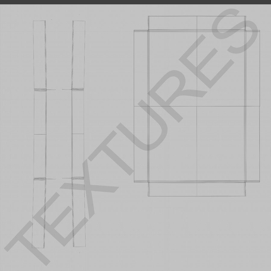 ボックス段ボール royalty-free 3d model - Preview no. 13