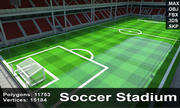 Soccer Stadium 4 3d model