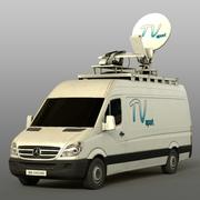 Mersedes Sprinter TV modelo 3d