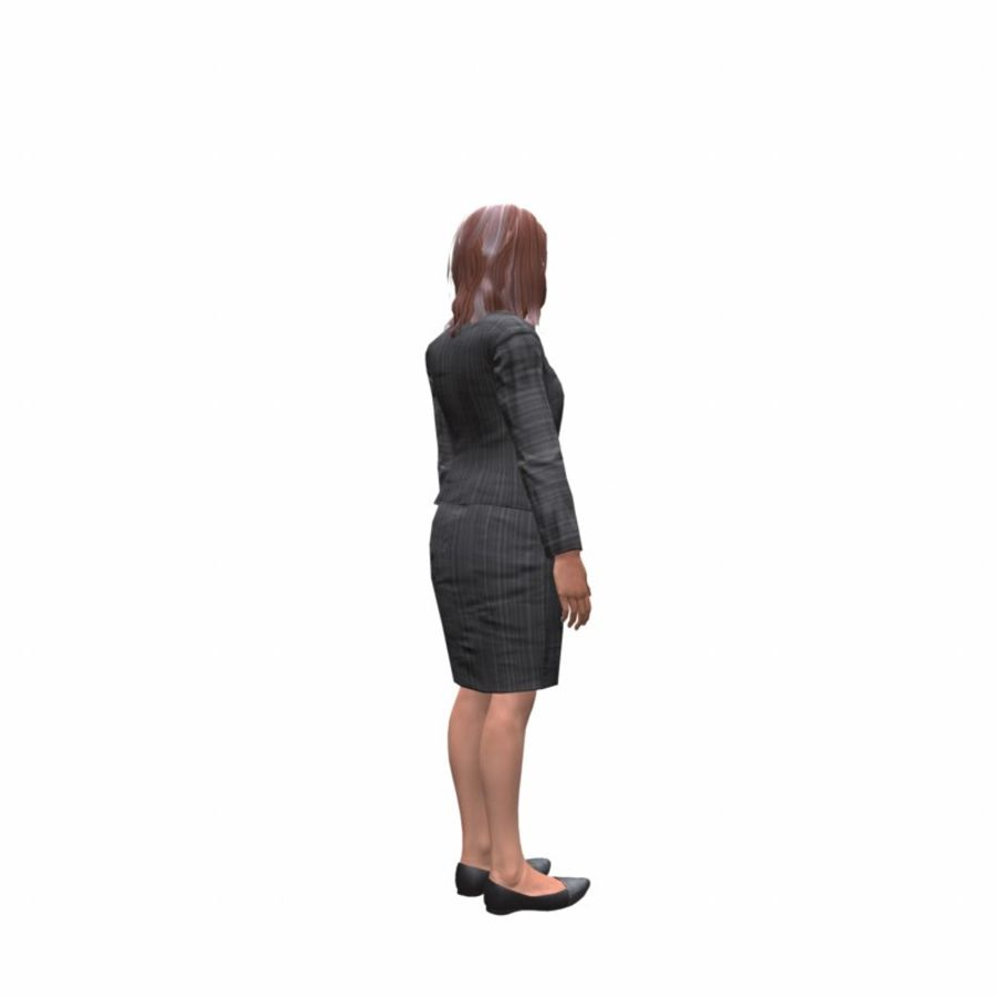 young lawyer woman royalty-free 3d model - Preview no. 6