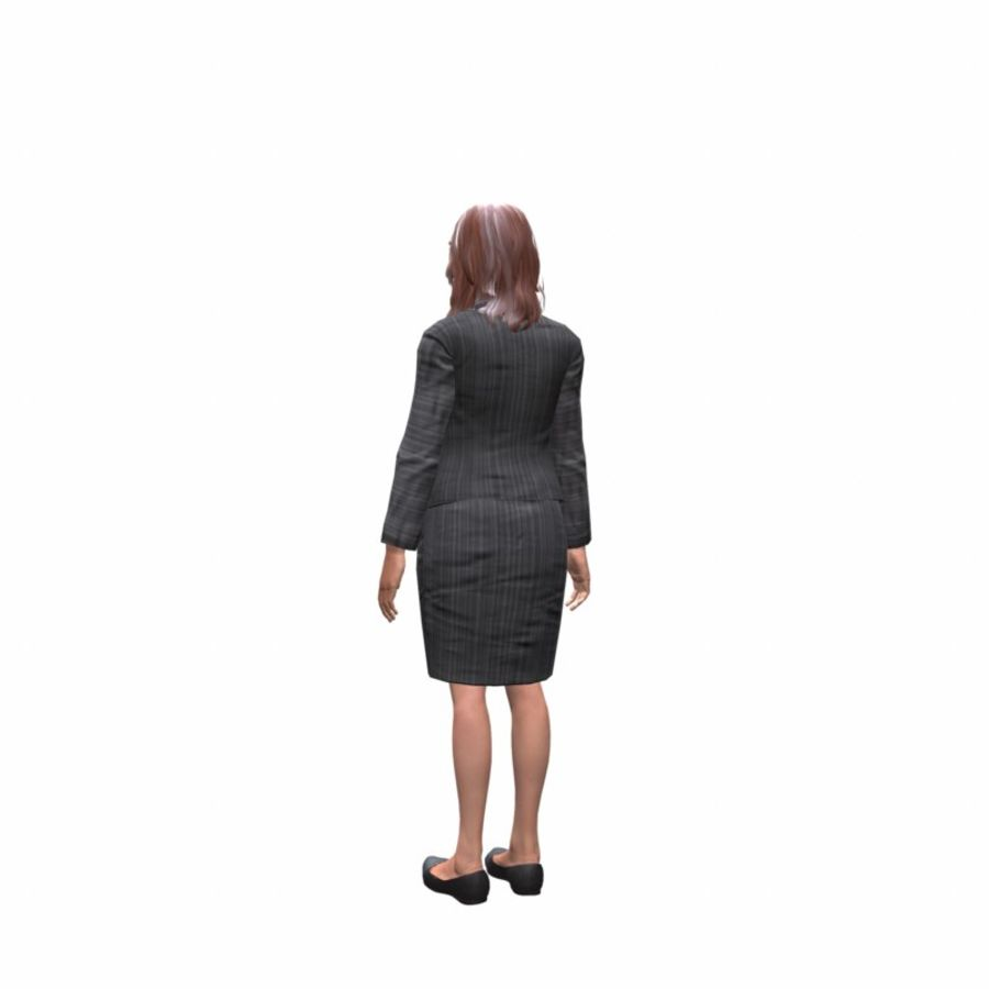 young lawyer woman royalty-free 3d model - Preview no. 5