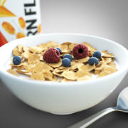 Corn flakes cereal 3d model