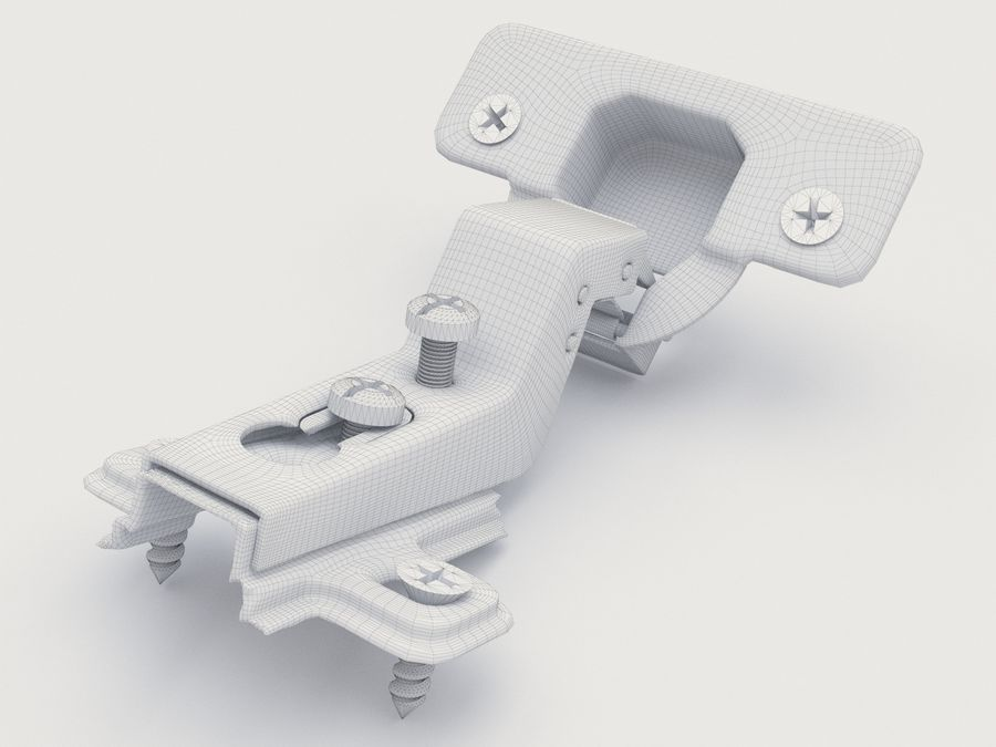Möbel slinga 03 royalty-free 3d model - Preview no. 7