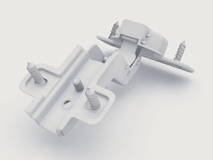 Möbel slinga 03 royalty-free 3d model - Preview no. 6
