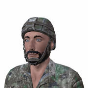 Syrian Soldier 3d model