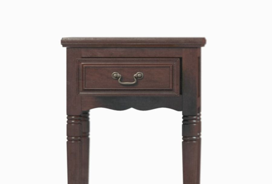 Drawer Nightstand royalty-free 3d model - Preview no. 2