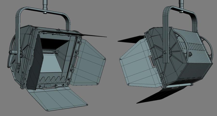 ARRI Flood 1250 royalty-free 3d model - Preview no. 6