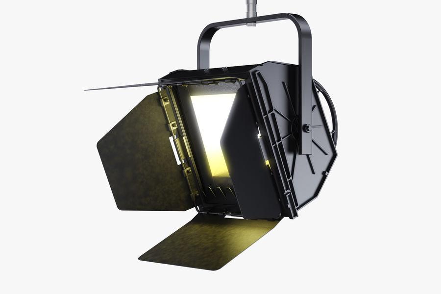 ARRI Flood 1250 royalty-free 3d model - Preview no. 4
