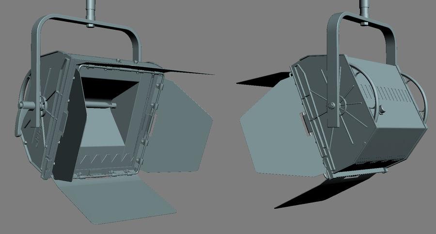 ARRI Flood 1250 royalty-free 3d model - Preview no. 5