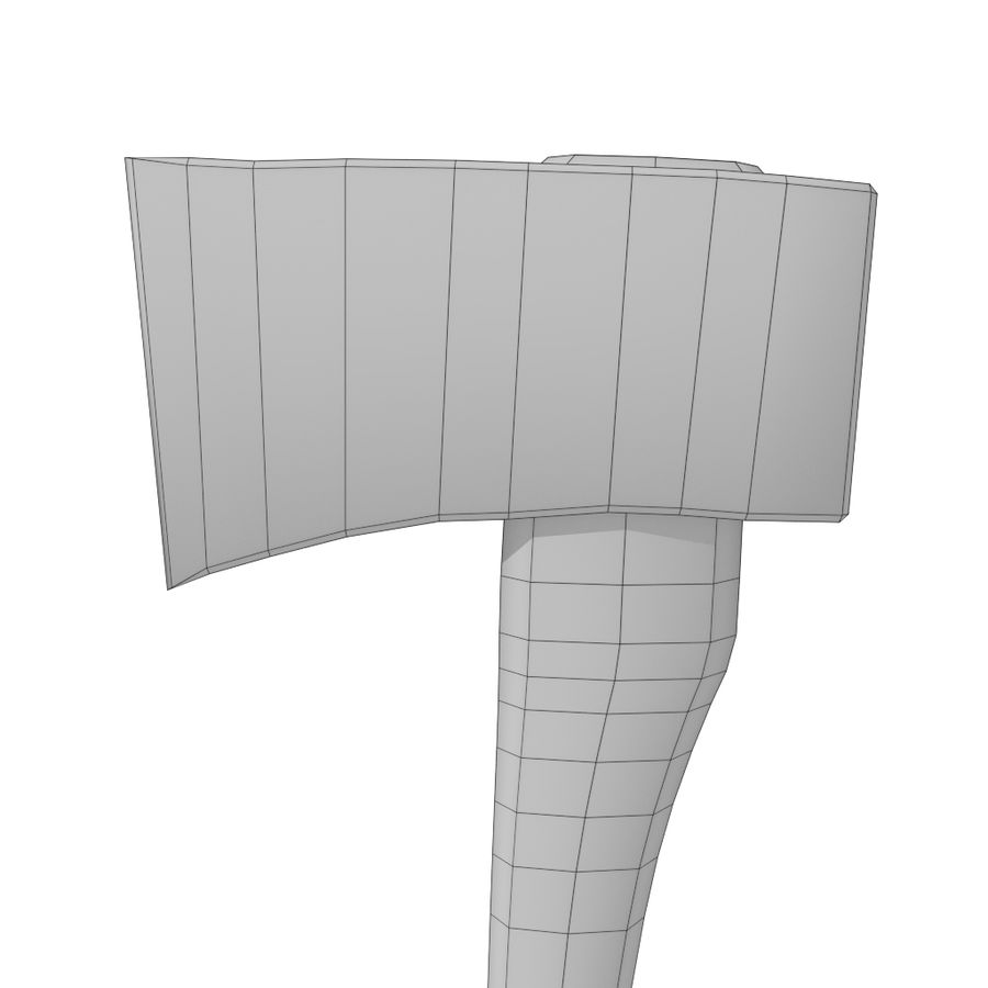 Axe royalty-free 3d model - Preview no. 8
