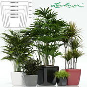 plant 25 Lechuza QUADRO LS 3d model